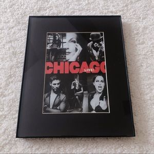 Chicago Poster in Frame